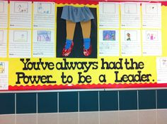 Great bulletin board for Leader in Me!