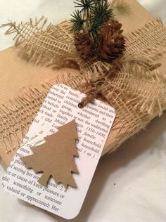 Christmas+gift+tags.+christmas+tree+gift+tags.+Paper+by+kC2Designs,+$4.75