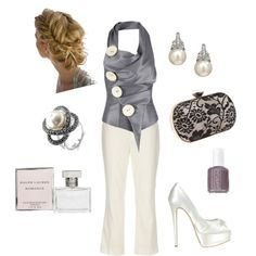 anniversary dinner, created by hmariewhite on Polyvore