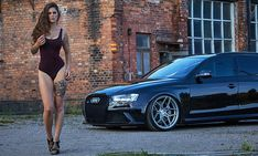 Miss Tuning Calendar All Motives - Audi - Super Car Pictures Trucks And Girls, Car Girls, Sexy Cars, Hot Cars, Honda Civic, Audi Rs4, Mini Cooper S Jcw, Sexy Autos, Car Poses