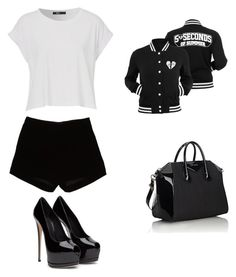"""Untitled #21"" by jcamila-jc on Polyvore featuring Andrew Gn and Givenchy"