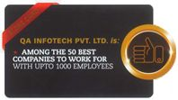 Among the 50 Best companies to work for with upto 1000 employees.