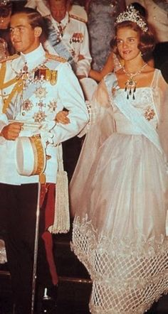 Γάμος | Greek Royalist | Flickr Greek Royalty, Danish Royalty, Greek Royal Family, Danish Royal Family, Princess Anne, Crown Princess Mary, Anne Maria, Princesa Mary, Adele