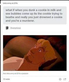 Drowning cookies?!?