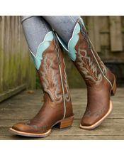 Ariat Women's Caballera Boot - Weathered Brown #IWantThese #CountryGirl