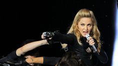 Madonna sued by France far-right for swastika video
