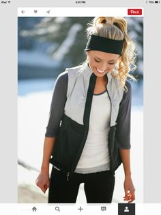 Athletic outfit… :))