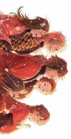 Demon Slayer Kimetsu No Yaiba Giyuu Manga Anime, Me Anime, Anime Angel, Anime Demon, Otaku Anime, Kawaii Anime, Anime Art, Wallpaper Anime Hd, Familia Anime