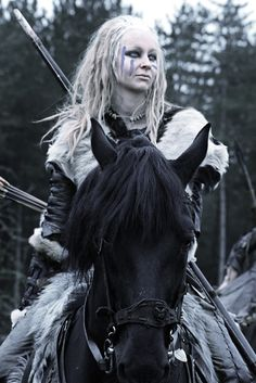 Pictish Warrior Woman: 8th century English historian, Bede, who wrote that, whenever the Pictish royal succession was in dispute, kings were chosen from the Female royal line rather than the male.