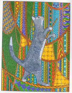 Circus cat
