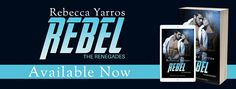 We are so excited to be sharing Rebecca Yarros's REBEL with you today! REBEL is the third standalone in the Renegades series and is out now--hurry and grab your copy today!   About REBEL She's Penna Carstairs.  The Renegade they call Rebel.  FMX-treme Magazine's sexiest female athlete of the year.  There's no rule in extreme sports she hasn't broken,  No gender barrier she hasn't demolished.   #Contemporary Romance #Entangled Publishing #New Adult