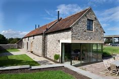 Barn Conversion, Gloucestershire transitional-exterior