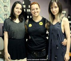 Katia Miyazaki Coiffeur - Salão de Beleza em Floripa: corte feminino - messy hair - hair style - ombre h...