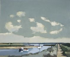 Coastal Footpath, Burnham Overy by John Newland Abstract Landscape Painting, Landscape Art, Landscape Paintings, Examples Of Art, Still Life Art, Love Painting, Contemporary Paintings, Art Gallery, Artwork