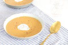 Rode linzensoep met wortel – SKINNY SIX