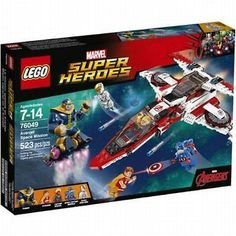 Lego Marvel Super Heroes Avenjet Space Mission 76049 BRAND NEW!