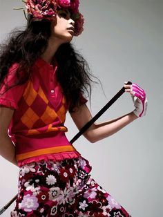 Let's go bold and colourful.. but is this allowed on a golf course?