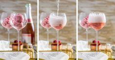Så gör du veckans godaste drink – med prosecco och sorbet