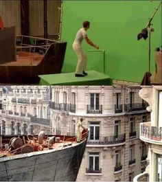 20 movie moments, with and without the special effects