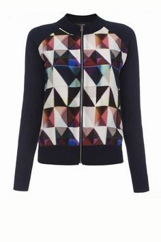 Maglione con pettorina in seta Paul Smith