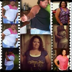 """#myzumbabody """"On the left before Zumba and watching what I ate. In the top middle..the biggest I have ever been (385 lbs) on the right down 185 lbs and still going."""" *Results not typical and may vary subject to several factors including, but not limited to, diet, exercise frequency, and body composition."""