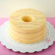 Loving Creations for You: 'Sushi' Wood-style Chiffon Cake Chiffon Recipe, Chiffon Cake, Sponge Cake Recipes, Cupcake Recipes, Easy Pound Cake, Pound Cakes, Ogura Cake, Cotton Cake, Cake Decorating Piping