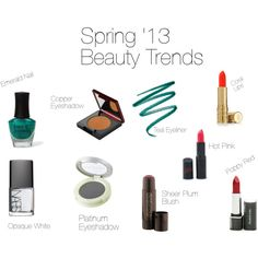 The IT colors of Spring '13 Beauty