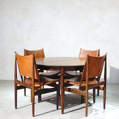Finn Juhl / Niels Vodder / Egyptian Chair Egyptian, Dining Table, Chair, Furniture, Home Decor, Decoration Home, Room Decor, Dinner Table, Home Furnishings