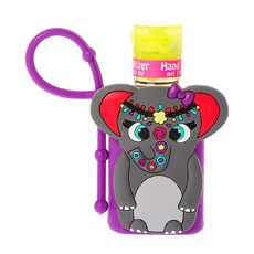 Elephant Holder with Cupcake Anti-Bacterial Hand Sanitizer