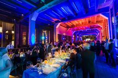 High Line Art Dinner: In September, Friends of the High Line hosted its 2016 High Line Art Dinner featuring a seated dinner for 200 guests under the Chelsea Market passageway in New York. Proceeds from the event helped support the High Line's public art projects as well as the ongoing maintenance and operation of the park. The colorful rainbow-inspired decor was designed by Van Wyck & Van Wyck, with catering by Bite Food and lighting by L&M Lighting and Sound.