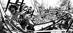 Manga  es la palabra japonesa para designar a las historietas en general. Fuera de Japón se utiliza tanto para referirse a las historietas de origen japonés como al estilo de dibujo utilizado en estas.