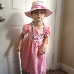 Dressing Up As A 100 Year Old For The 100th Day Of School