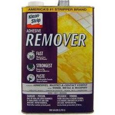 Removing Laminate Flooring, Wood Laminate, How To Remove Glue, How To Remove Adhesive, Kitchen Flooring, Cement, Home Depot, Grout, Concrete