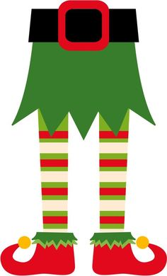 hiding in santa boot elf clipart - Ghorkov cliparts Office Christmas, Christmas Door, Christmas Paper, Christmas Crafts For Kids, Christmas Projects, Christmas Stockings, Christmas Holidays, Christmas Cards, Christmas Photo Booth