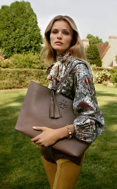 Meet McGraw, our new handbag collection in slouchy pebbled leather.