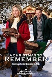 A Christmas To Remember hallmark movie dvd