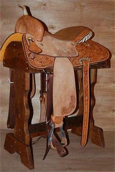 """Billy Cook Barrel Saddle - 15"""""""