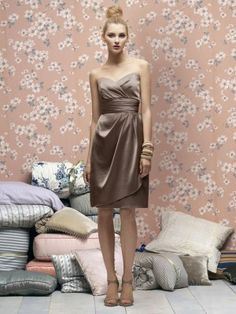 Bridesmaids gowns by LELA ROSE Style Number LR168