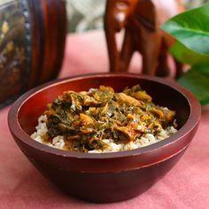 Sweet Basil n Spice: Liberian Greens And Rice