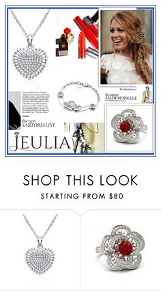 """""""JEULIA 17"""" by damira-dlxv ❤ liked on Polyvore featuring women's clothing, women's fashion, women, female, woman, misses, juniors, jewelry and jeulia"""