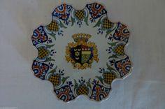 faience Nevers Assiette signé Trousseau et Cie, vers fin XIXe siècle,   eBay