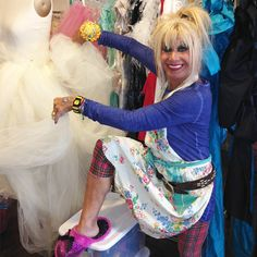 Would YOU accept consignments from THIS crazy lady? TGtbT.com hopes so... she's been a part of my life since I started in retail!