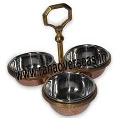 Pickle Set We have wide range of excellently designed Pickle sets available in Brass, Copper and Steel.