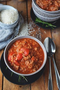 Paprika-Reistopf: Ein Ein-Topf-Gericht ⋆ Knusperstübchen - Güveç yemekleri - Las recetas más prácticas y fáciles Rice Recipes, Baby Food Recipes, Vegetarian Recipes, Healthy Recipes, One Pot Dishes, Meal Prep, Chili, Curry, Food Porn