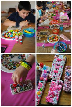 DIY Decoden Party! A New Craft Craze with Mod Podge Collage Clay!