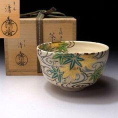 SG4-Japanese-Tea-Bowl-Kyo-ware-by-Famous-Potter-Seika-Isaka-Japanese-Maple