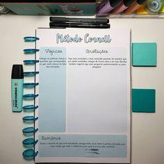 MÉTODO CORNELL Etapa # Lang Leav Poems, Print Handwriting, Cornell Notes, Study Methods, Vestibular, Bullet Journal School, School Study Tips, Study Hard, School Notes