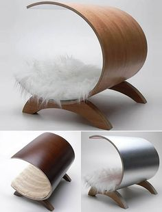 the popular angular half tube, modern dog bed in different color options