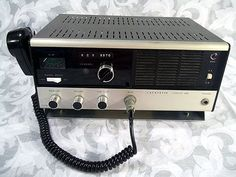 Sold Vintage 1960s LAFAYETTE COMSTAT 25B 23-Channel TUBE Citizens Band Transceiver.