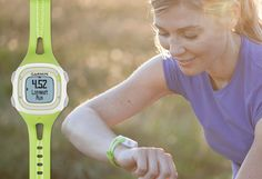 Every mile matters. Capture each one with the Forerunner Garmin's simplest GPS running watch. It accurately tracks how far and how fast you run, and your calories burned, helping you to keep track of your goals. Today's run is tomorrow's motivation. Burn Calories, Calories Burned, Running Watch, Outdoor Recreation, Motivation, How To Run Longer, Goals, Track, Fitness